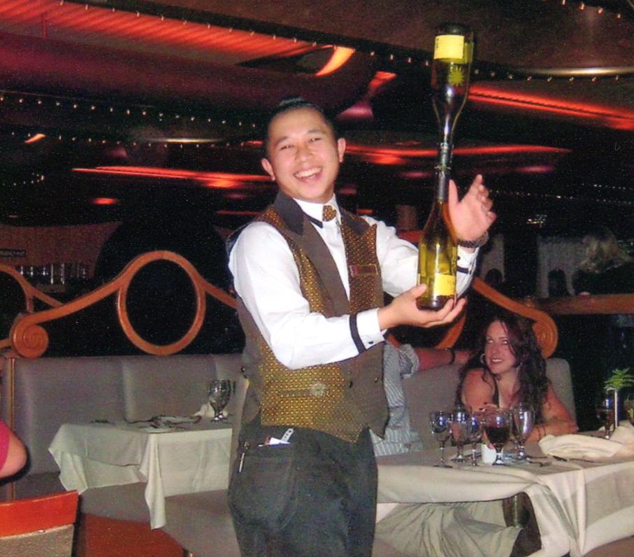 Carnival waiter