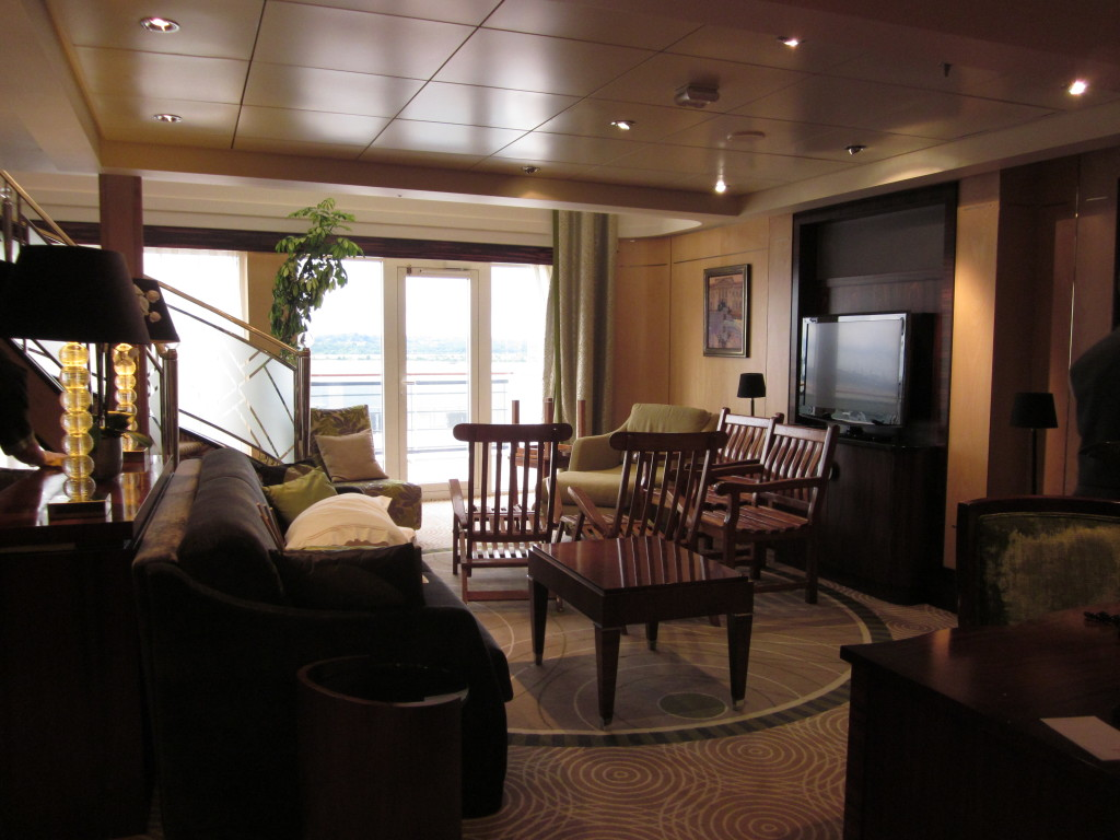Suite Living Room, Queen Mary 2