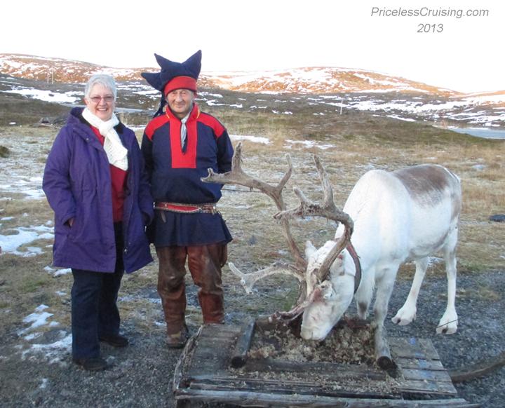 Smitty, Sami and reindeer