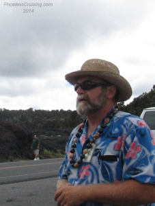 John, Our Driver/Tour Guide at Volcanos National Park