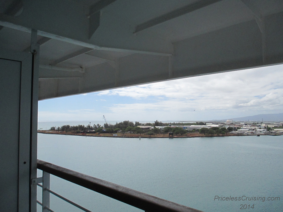 Pride of america review priceless cruising for Balcony overhang