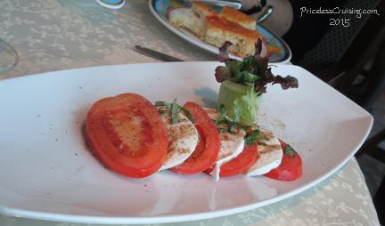 Caprese Appetizer at Toscana