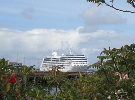Oceania Regatta in Astoria
