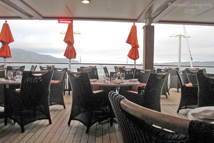 Terrace Grill with Golden Gate Bridge in background
