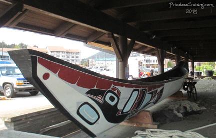 Tlinget boat, Sitka Alaska