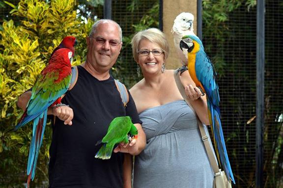 Dennis & Cindy in Bali