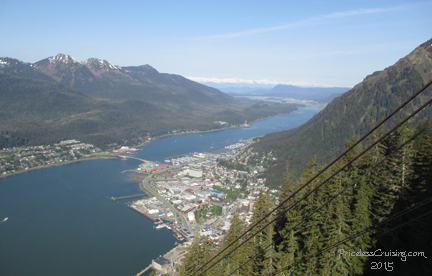 City of Juneau, as seen from the Mt. Roberts Tram