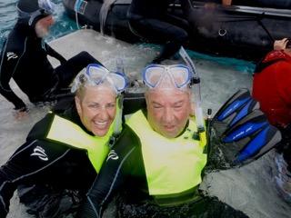 Snorkeling in Pulau Setaih
