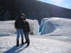 Jenny & Tony on Glacier